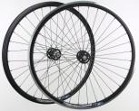 """28"""" Novatec Fixie Wheels - FLIP FLOP - Ryde DP18- komplett schwarz"""