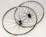 28 Zoll Shimano Laufradsatz - RM40 / RM30 shwarz
